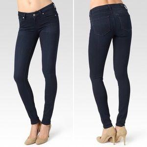 PAIGE Verdugo Ultra Skinny Jeans Dark Wash